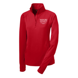 FITWELL STAFF - Sport-Tek Ladies Sport-Wick Stretch 1/2-Zip Pullover